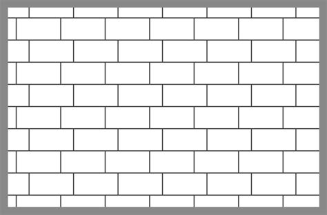 brick layout tile and paver layout patterns inch calculator