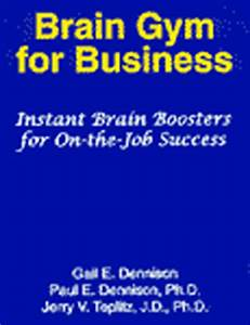 Brain-Gym for Business, books by Dr. Jerry V. Teplitz and ...