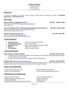 Objective In A Resume by Cv Objective Statement Exle Resumecvexle
