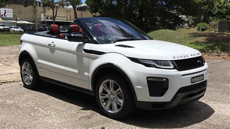 land rover australian range rover evoque convertible hse dynamic si4 2017 review