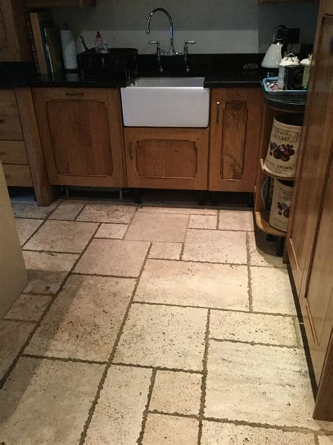 granite kitchen floors tile cleaning cleaning a small travertine tiled 1295