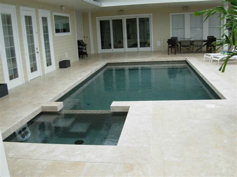 modern pool coping contemporary pool design orlando geometric pool lake nona