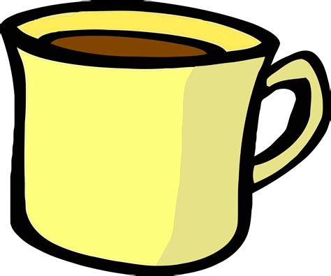 Cup Clip Cup Clipart Yellow Tea Pencil And In Color Cup Clipart