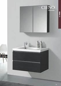 Meuble De Salle De Bain Gris : meubles lave mains robinetteries meubles sdb meuble de salle de bain 80 cm cieno 800 ch ne ~ Preciouscoupons.com Idées de Décoration