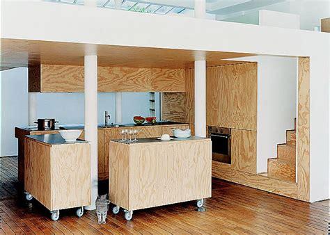 cacher une cuisine ouverte cuisine américaine