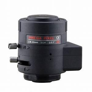 2mp Cctv 1  2 7 U0026quot  2 8 12mm Varifocal Lens  Auto Iris Manual