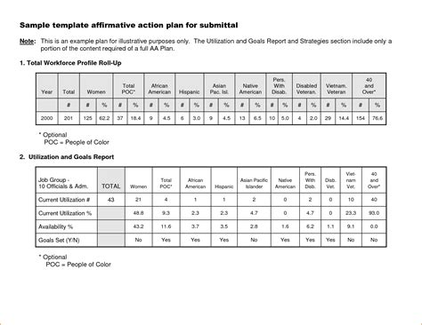affirmative action plan template teknoswitch