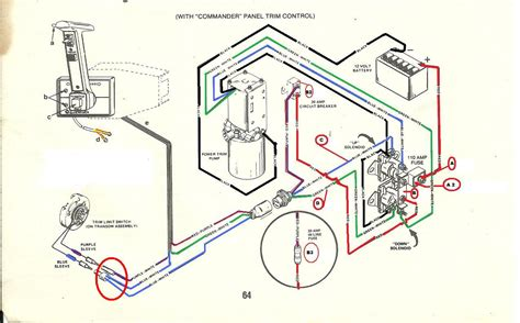 3 wire tilt and trim wiring diagram get free image about