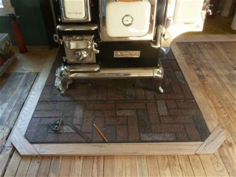 wood stove floor protector 5 acres a more on the floor kitchen floor that is