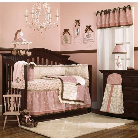 bedroom girly decorated ideas room with crib