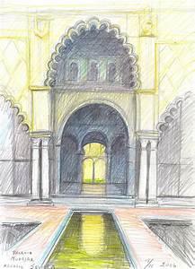 Bernth Uhno Drawings Travells Spain