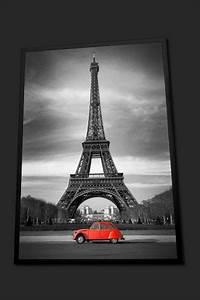 Tableau Deco Noir Et Blanc : tableau pop art london bus rouge en face de big ben en noir et blanc londres home photo ~ Melissatoandfro.com Idées de Décoration