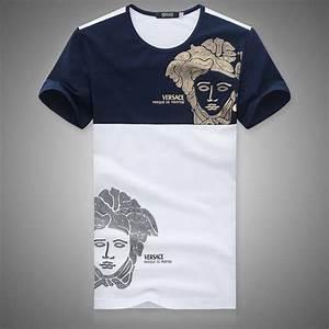 #Versace #Men T-shirts   Clothing   Pinterest   Two tones ...