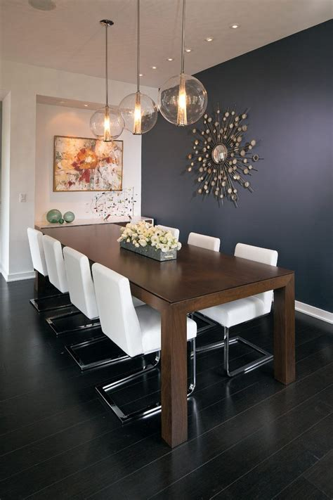 wall decor contemporary centerpieces for dining room eclectic lighting dining room contemporary with navy blue