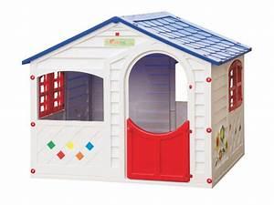 Maison Jardin Pour Enfant : maisonnette pour enfant little house l130 x l106 x h115 cm ~ Premium-room.com Idées de Décoration