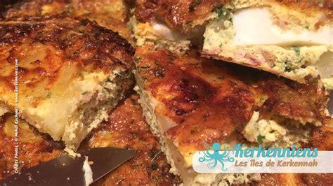 recette plat cuisiné tajine au thon version tunisienne vous connaissez