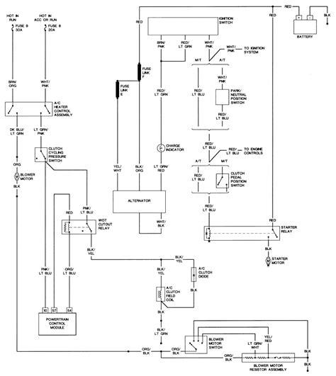 wiring diagram ford mustang starter solenoid wiring