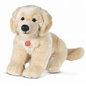 Teddy Hermann Golden Retriever Sitting Soft Toy | Dragon ...