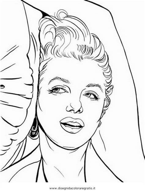 Kleurplaat Afrikaanse Vrouw by Marilyn Coloring Pages Pictures To Pin On