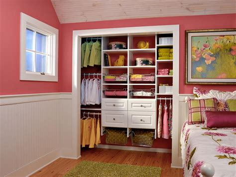 Hgtv Closet Organization Ideas by Tips For Organizing A Small Reach In Closet Hgtv S