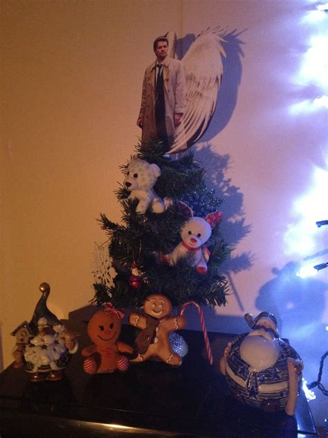 castiel christmas tree topper you ve got to be kidding yikes tree toppers supernatural tree toppers