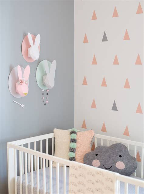 la chambre des diy faire soi même la déco de la chambre de bébé
