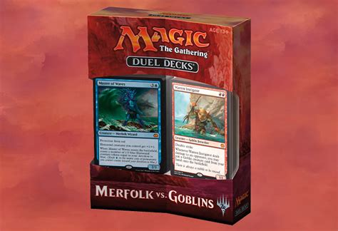 duel decks merfolk vs goblins magic the gathering