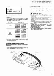 Wiring Diagram For Sony Xplod Cdx Gt08