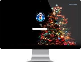 merry christmas theme for windows 10