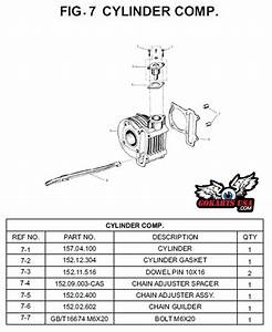 Dowel Pin 10x16  For Trailmaster 150 Buggy Go Kart
