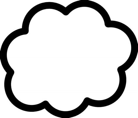 cloud clipart black and white white cloud clip www pixshark images galleries