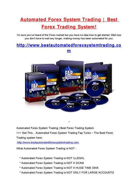 automated currency trading automated forex system trading by steve goodman issuu