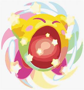 Hypernova Kirby Vecorized by TomoNat on DeviantArt