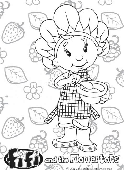 kids  funcom  coloring pages  fifi   flowertots