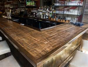cheap kitchen islands with seating reclaimed boxcar plank bar rustic home bar