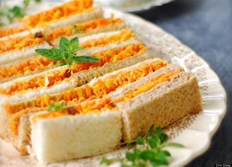 finger sandwiches 11 new tea sandwich recipes photos huffpost