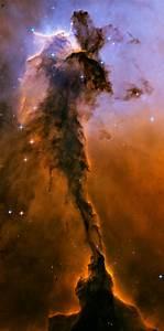 The Eagle has risen: Stellar spire in the Eagle Nebula ...