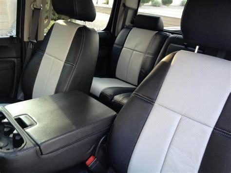 Chevy Silverado Clazzio Leather Seat Covers