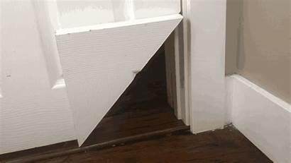 Door Cat Interior Diy Doors Pet Korner