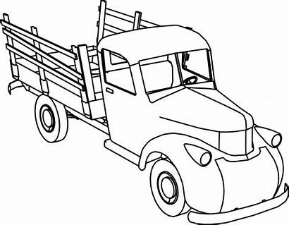 Coloring Truck Pages Pickup Chevy Printable Gmc
