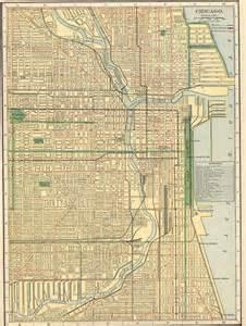 1910 Chicago City Map