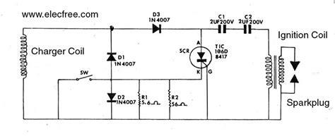 electronic motocycle ignition cdi honda c 90 eleccircuit