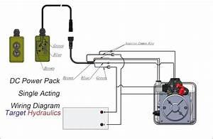 Electric Over Hydraulic Pump Wiring Diagram