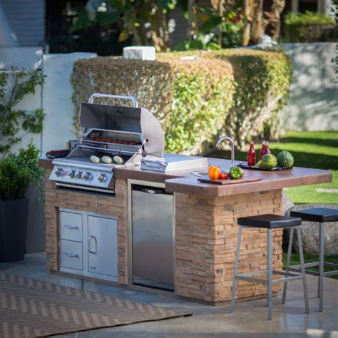 bbq outdoor kitchen islands bull outdoor products bbq island with 4 burner angus gas