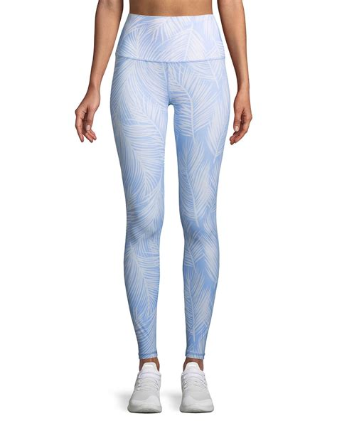 Spiritual Gangster High Vibe Printed High Waist Leggings