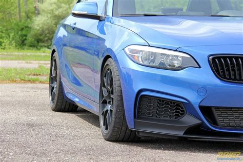 performance front lip spoiler splitter   mi turner motorsport