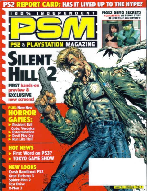 Informer Metal Cover by An Over The Top Game Informer Cover For Mgs2 Metalgearsolid