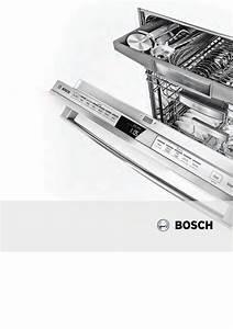 Bosch Shx7pt55uc Owner U0026 39 S Manual