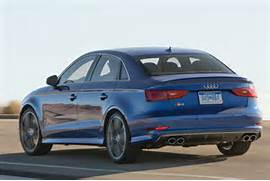 Audi S Audi S Sedan Boasts Sae Hp In Seconds - Audi s3 0 60