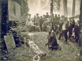 national cremation society re discovered photos emphasize bohemian grove sacrifice